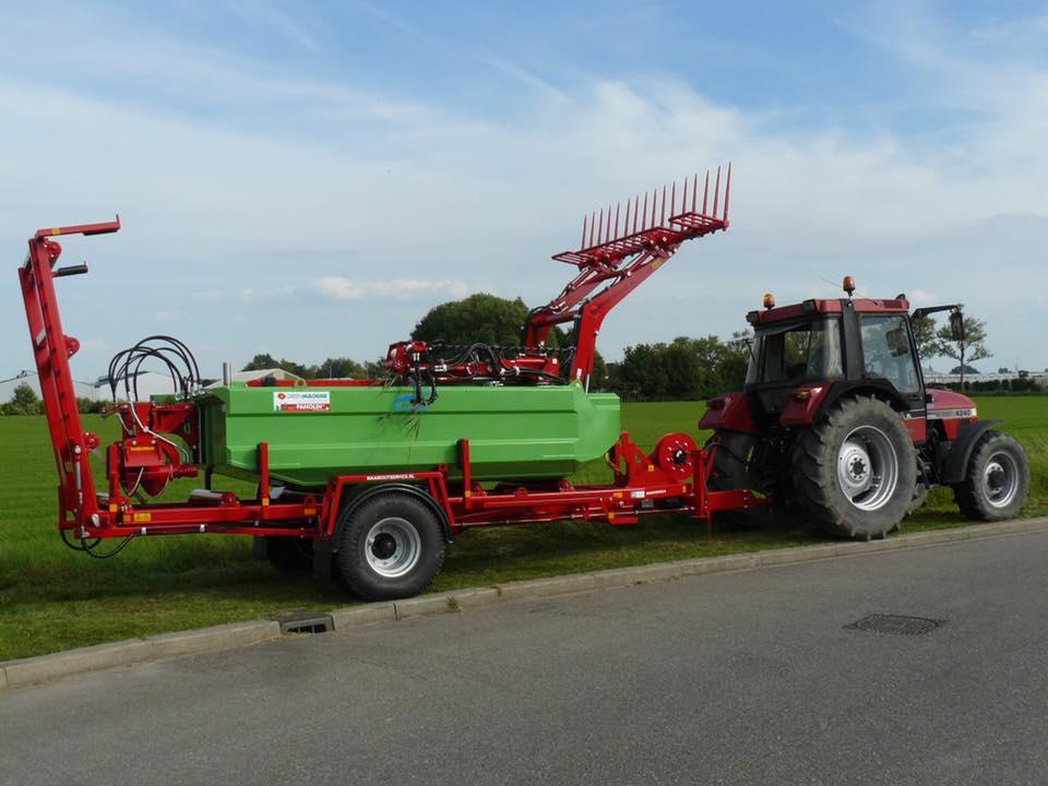 """Nieuwe maaiboot M180T voor Maaibootservice """"De Weed"""""""